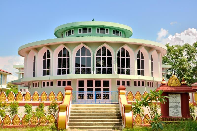 Statligt Pariyahti Sasana universitet, Mandalay arkivbild