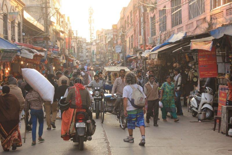 Stato abbattuto in India haritwar e del Nord, città indiana immagini stock libere da diritti