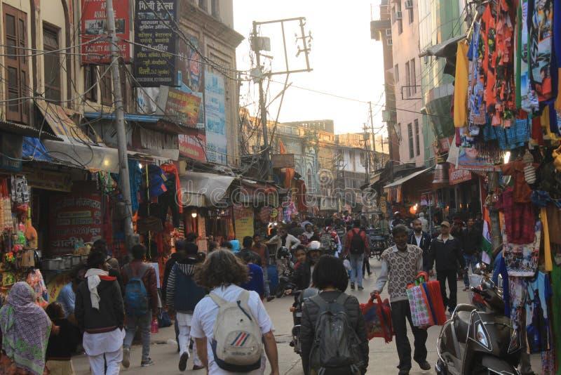 Stato abbattuto in India haritwar e del Nord, città indiana fotografia stock