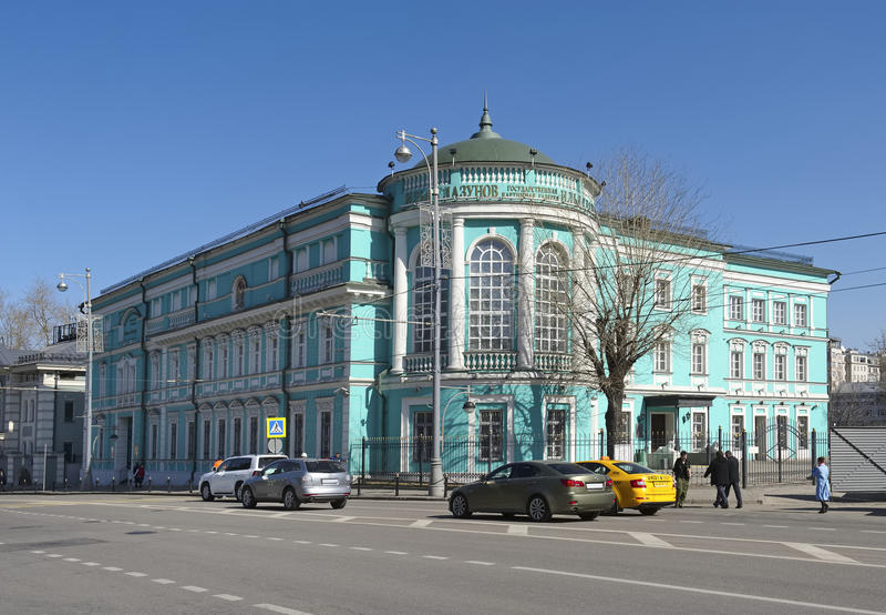 Stato Art Gallery Ilya Glazunov di Mosca fotografia stock libera da diritti