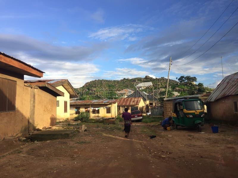 Stato del plateau del plateau, Nigeria immagini stock libere da diritti