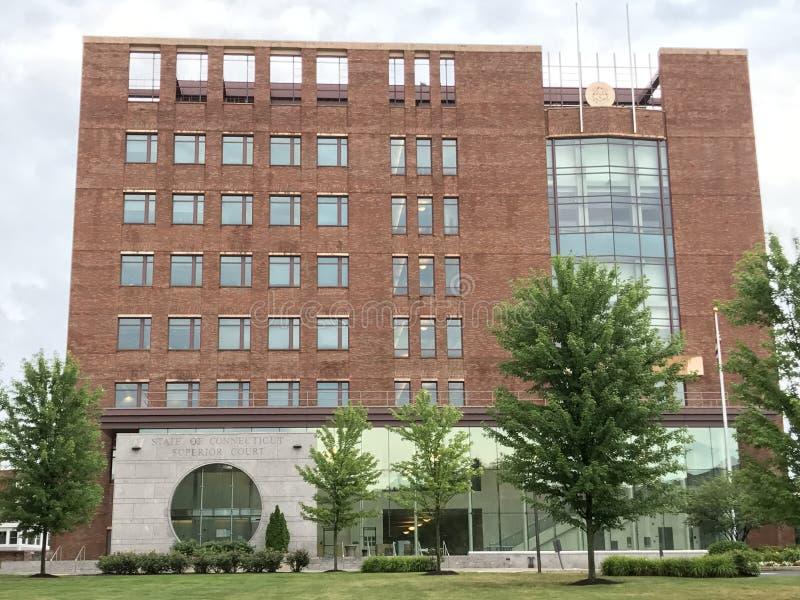 Stato della corte di appello in Stamford, Connecticut di Connecticut fotografie stock libere da diritti