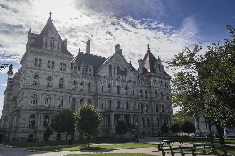 Stato di New York Campidoglio fotografia stock libera da diritti