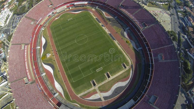 Stato di Sao Paulo, la città di Sao Paulo, del Brasile, del sao Paulo Futebol Clube o dello stadio Cicero Pompeu de Toledo fotografie stock