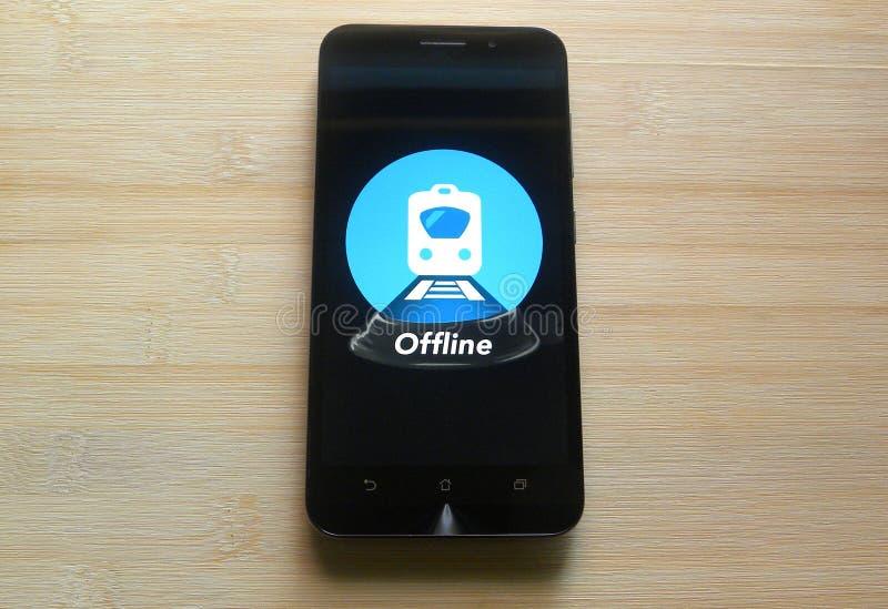 Stato ferroviario indiano del treno immagini stock libere da diritti