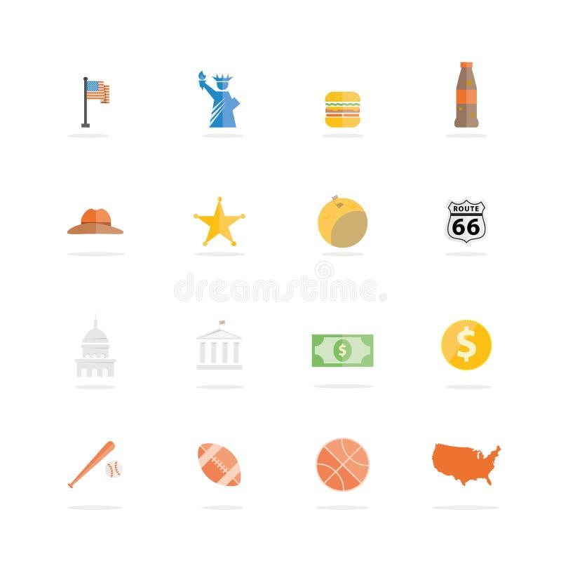 Stato unito dell'America illustrazione di stock