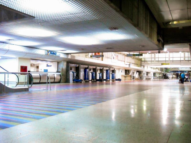 Stato/Venezuela del Vargas di Guaira della La 08/11/2018 di aeroporto internazionale Simon Bolivar Maiquetia Editorial fotografia stock