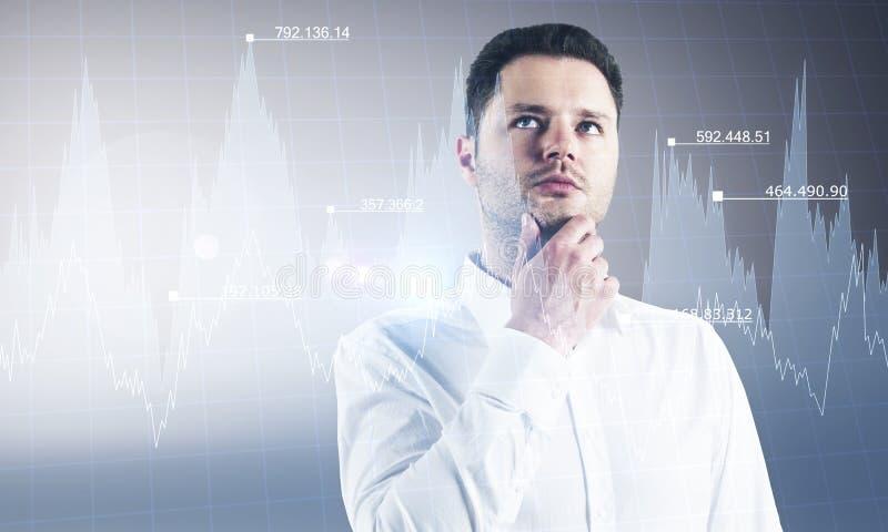 Stats e conceito do crescimento imagens de stock royalty free