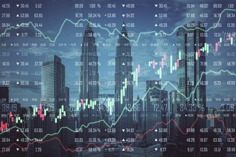 Stats en economieconcept royalty-vrije stock fotografie