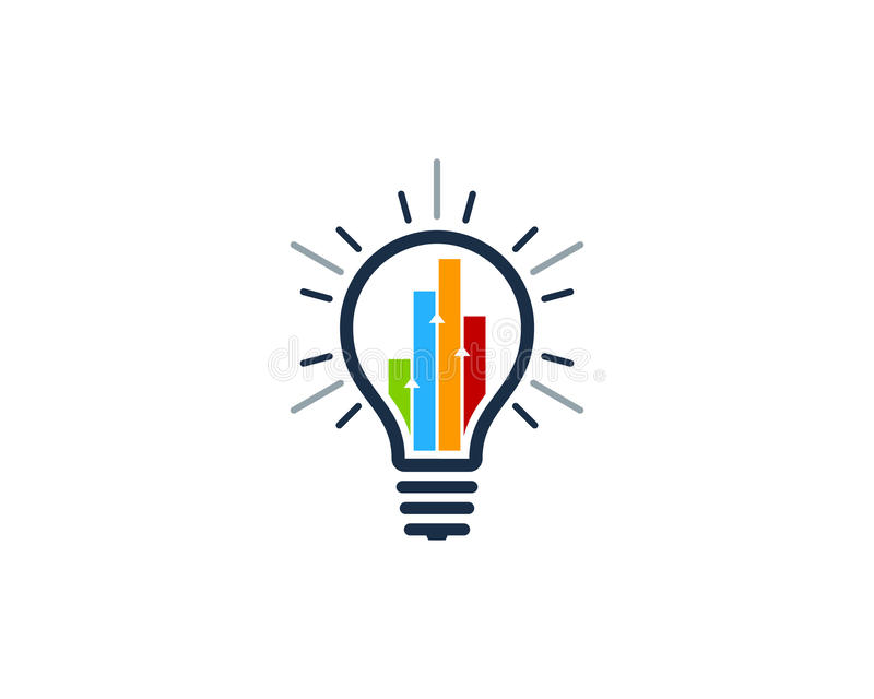 Stats raportu pomysłu ikony loga projekta element ilustracji