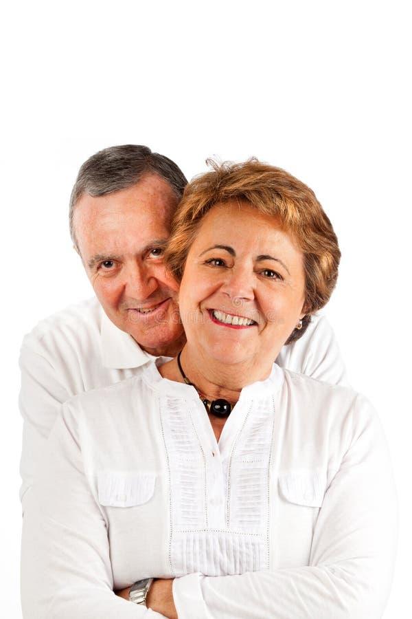 Stattliche ältere Paare lizenzfreies stockbild