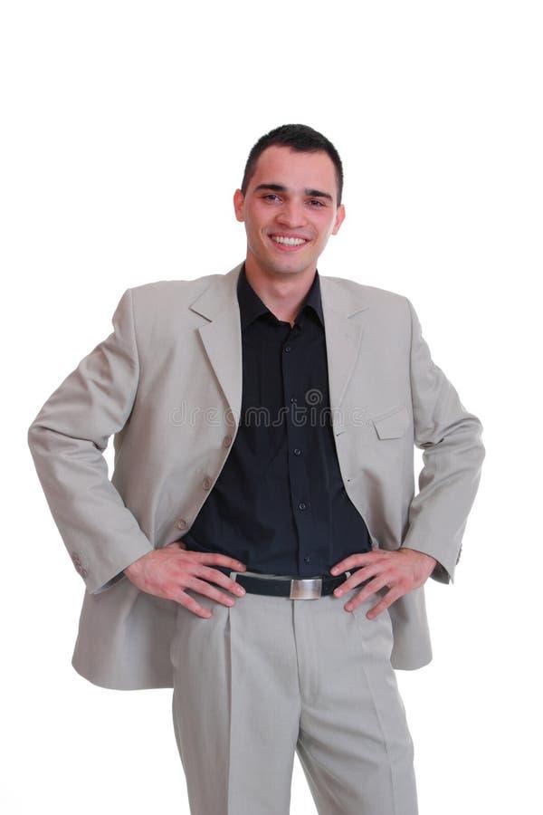 Stattlicher Geschäftsmann lizenzfreie stockfotos
