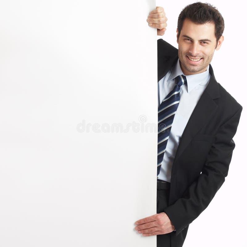 Stattlicher Geschäftsmann lizenzfreie stockbilder