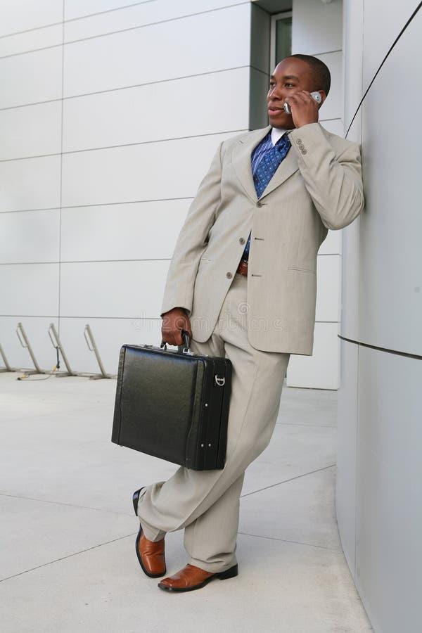 Stattlicher Geschäftsmann stockbilder