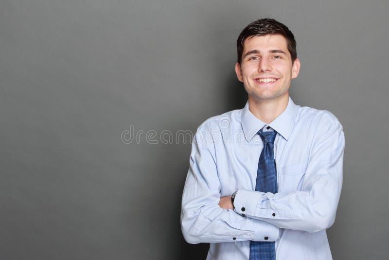 Stattlicher Geschäftsmann stockfoto