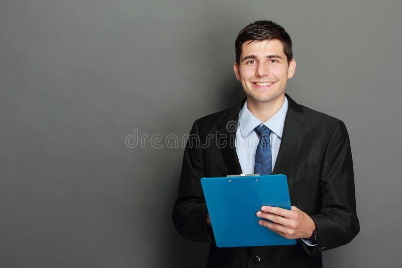 Stattlicher Geschäftsmann stockbild