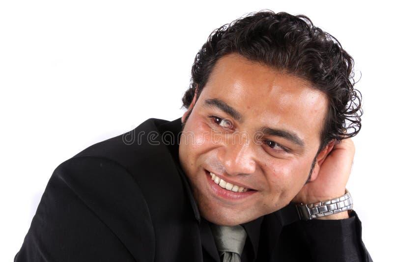 Stattlicher indischer Kerl lizenzfreies stockfoto