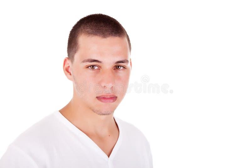 Stattlicher junger Mann stockfotos
