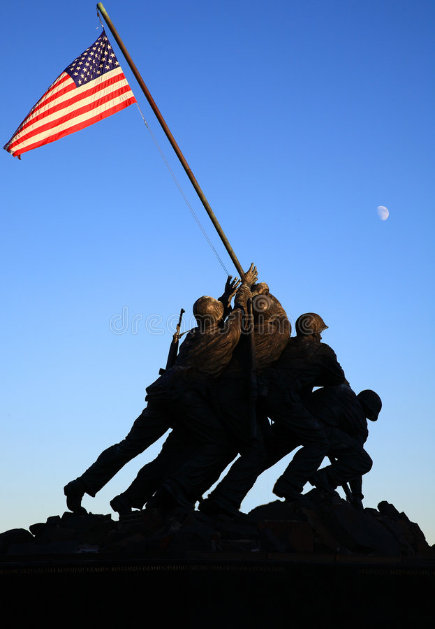 Statu de guerre image libre de droits