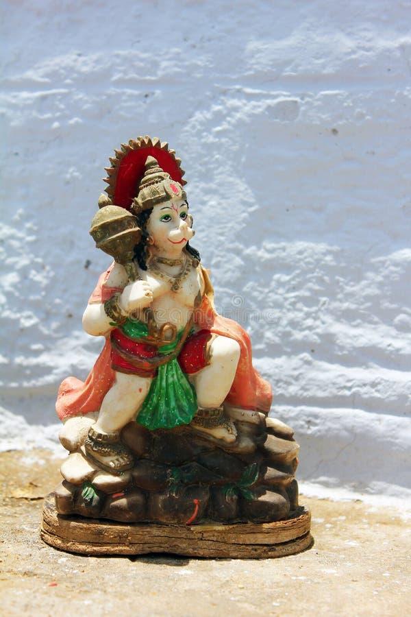 Statu of lord hanuman stock images