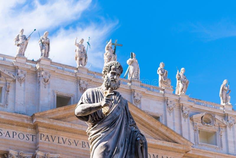 Statua święty Peter obraz stock