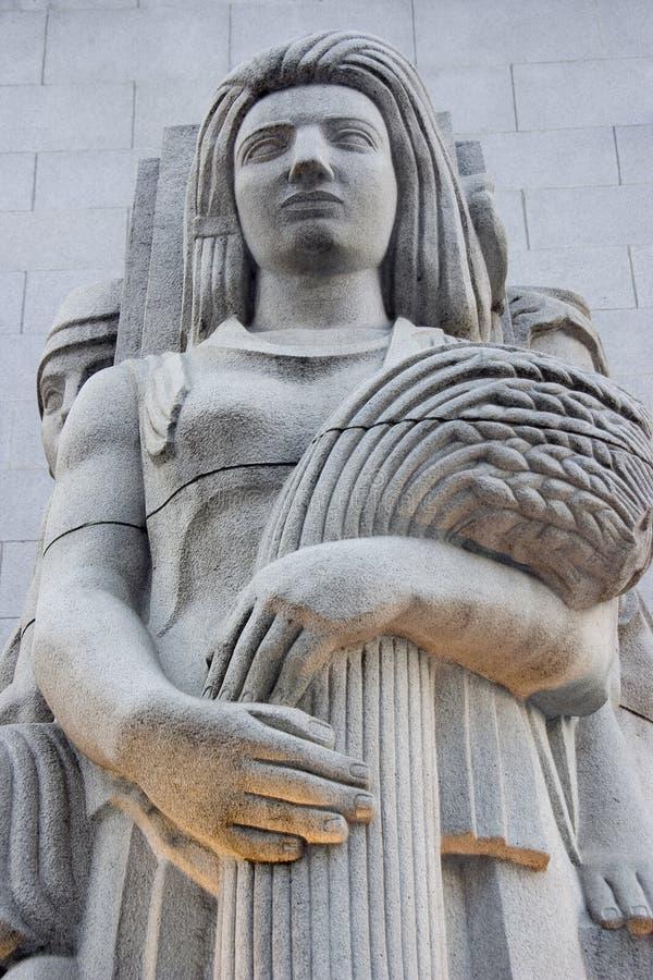 Statua 2 di Deco fotografie stock libere da diritti