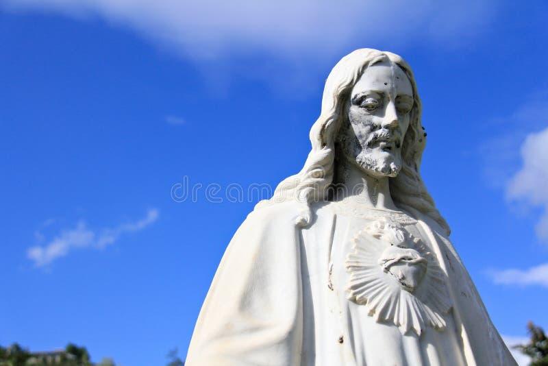 Statua 2 di Gesù Cristo fotografie stock
