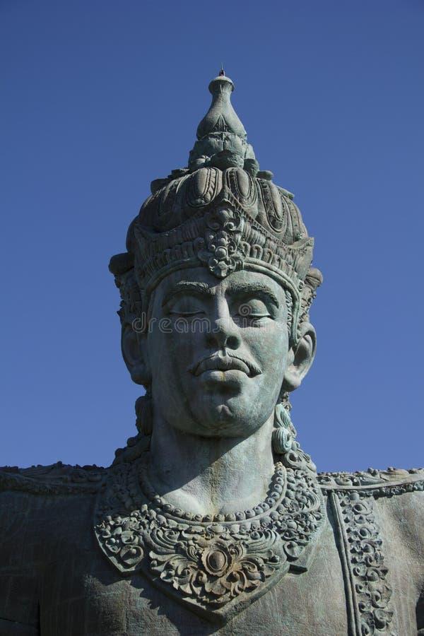 Statua alla sosta culturale di Garuda Wisnu Kencana immagine stock libera da diritti