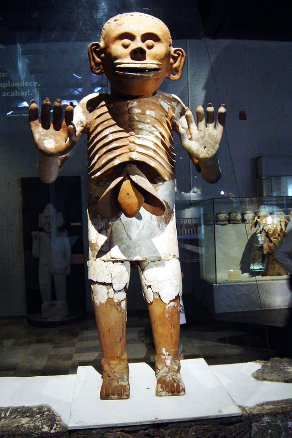Statua azteca fotografie stock