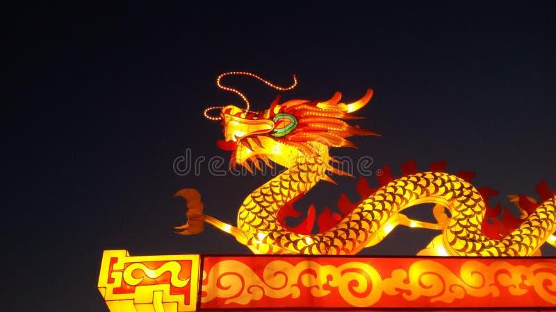 Statua chiński smok obraz royalty free