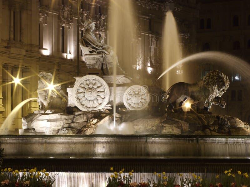 Statua Cibeles, Madryt fotografia stock