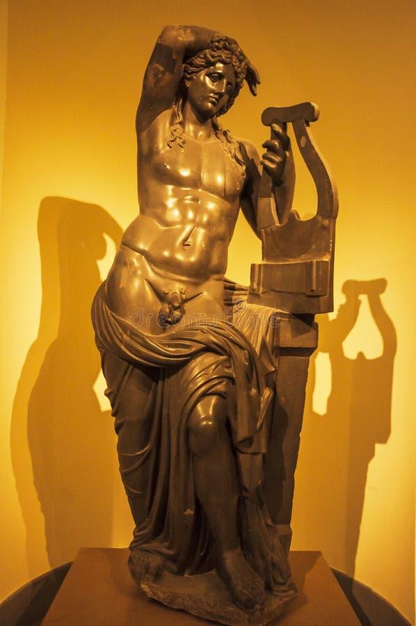 Statua classica fotografie stock