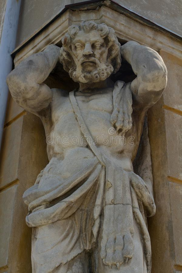 Statua Corgon w Nitra, Sistani zdjęcie stock