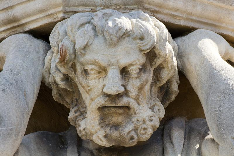 Statua Corgon w Nitra, Sistani obrazy stock