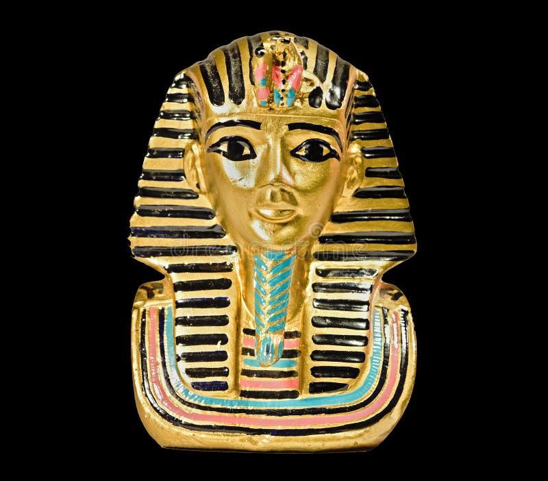 Statua decorativa dall'Egitto fotografie stock libere da diritti