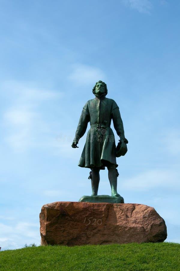 Statua dei vasi del Gustav immagini stock libere da diritti