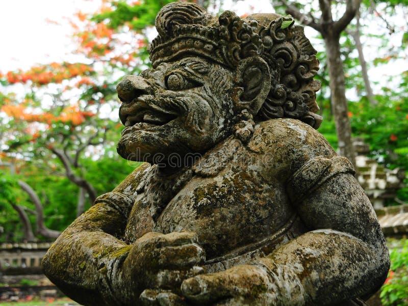 Statua del Bali fotografie stock libere da diritti