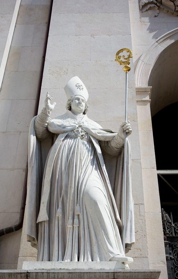 Statua del Bishop fotografia stock