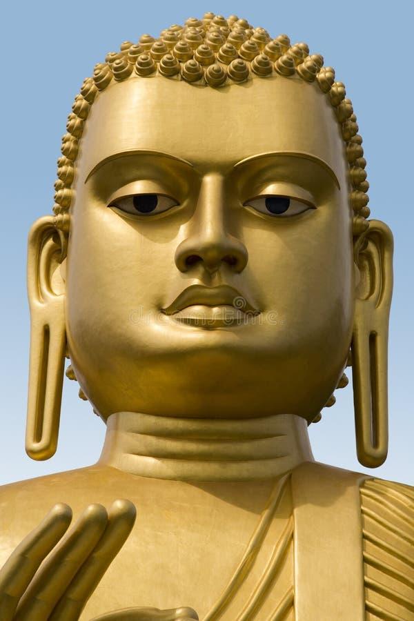 Statua del Buddha - Dambulla - Sri Lanka immagine stock