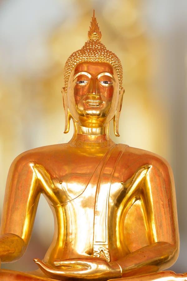 Statua del Buddha della Tailandia fotografia stock