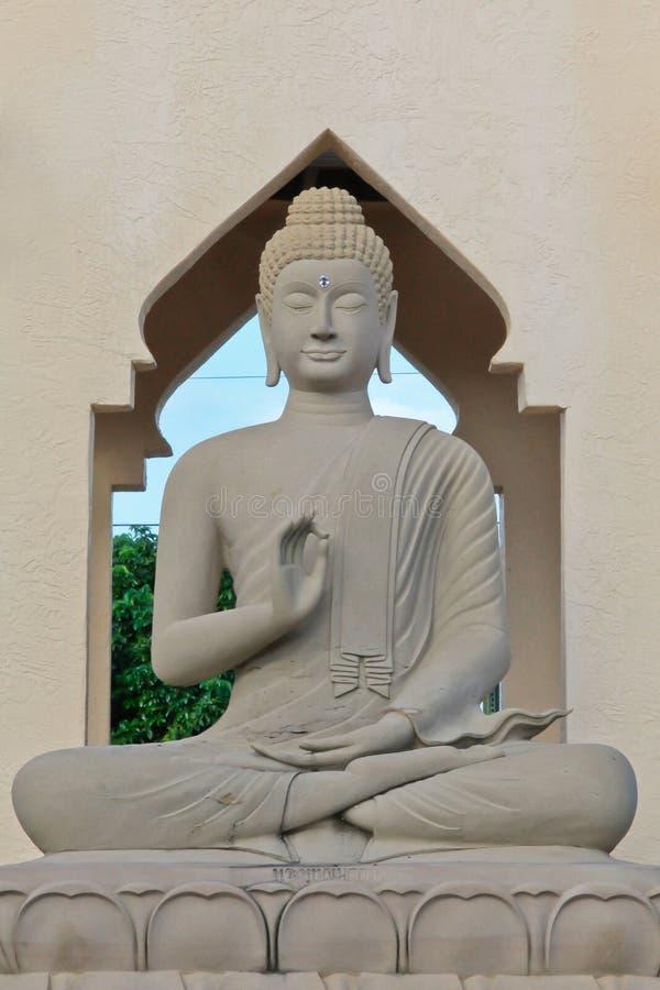 Statua del Buddha, Tailandia fotografie stock