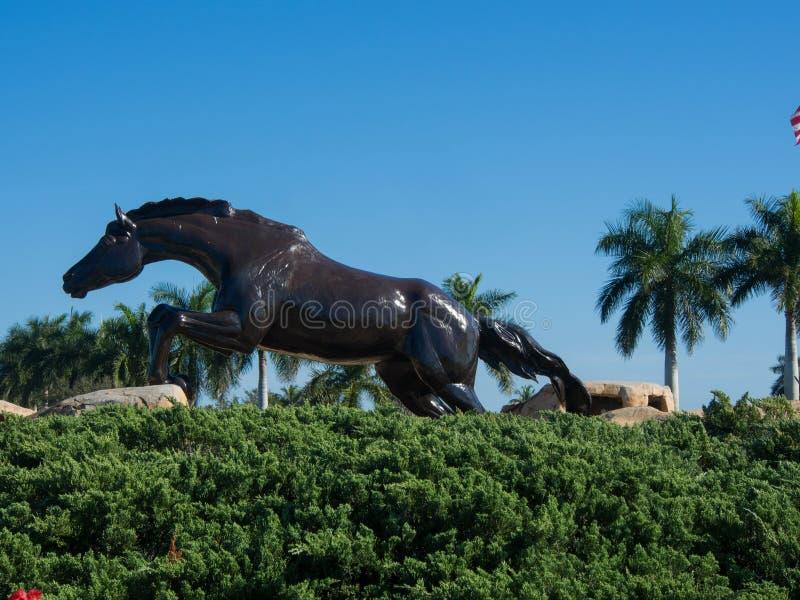 Statua del cavallo di Lely immagini stock libere da diritti