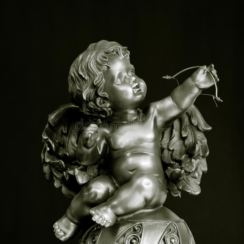 Statua del Cupid fotografie stock libere da diritti