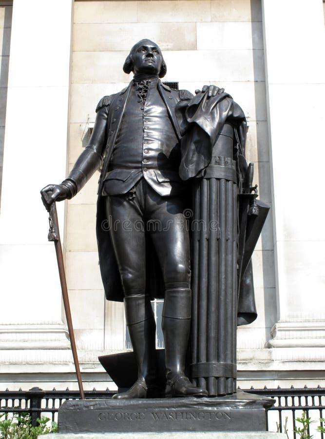 Statua del George Washington fotografie stock