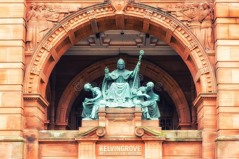 Statua del mungo della st fotografia stock libera da diritti