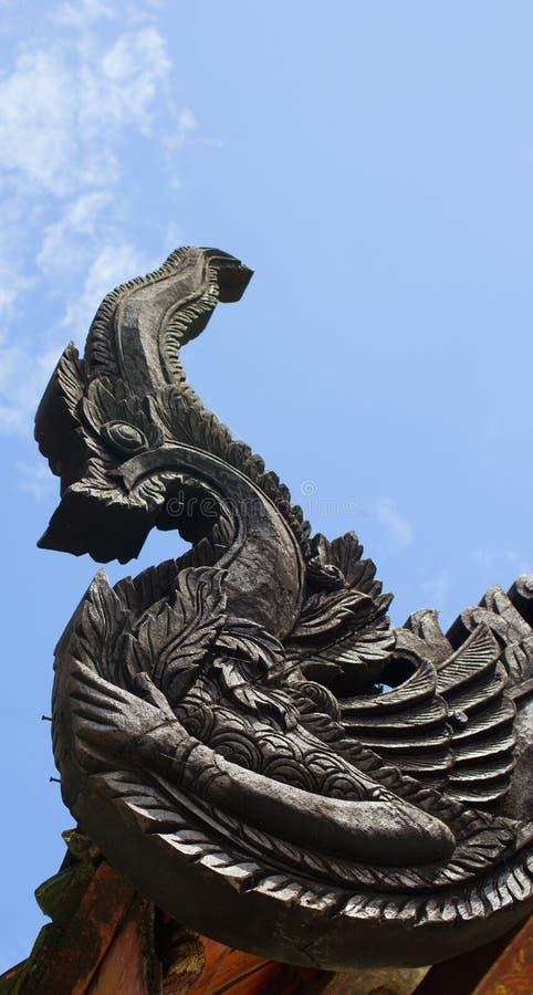 Statua del Naga fotografia stock libera da diritti