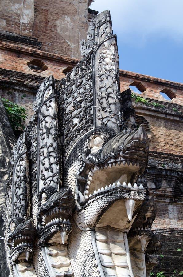 Statua del Naga, Chiang Mai