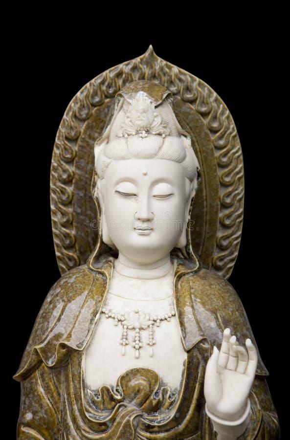 Statua del yin di Kuan immagine stock libera da diritti