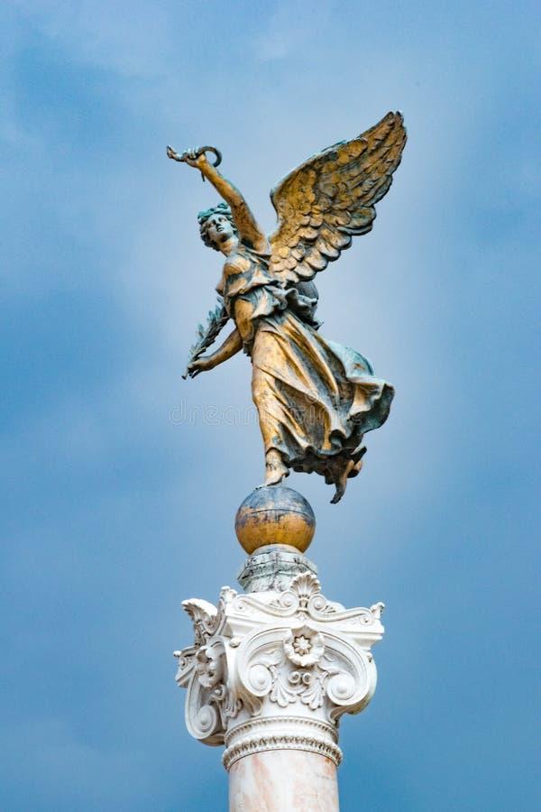 Statua dell'Italia fotografia stock libera da diritti