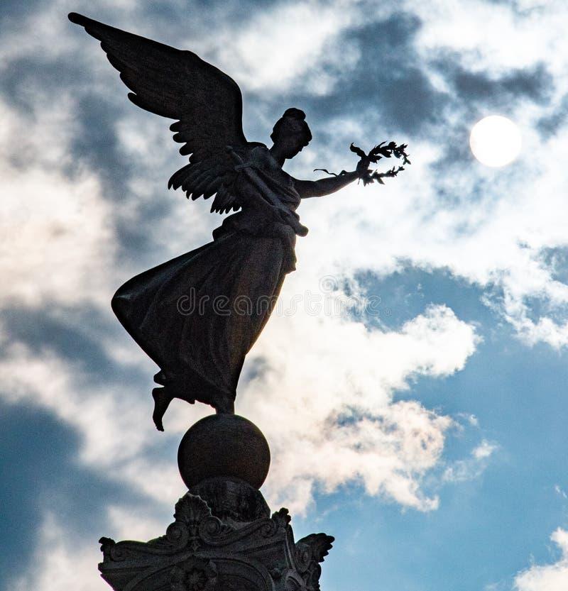 Statua dell'Italia immagine stock
